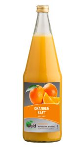 Orangen-Direktsaft